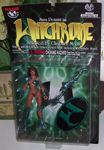 Sara Pezzini  Witchblade Moore Action Collectible Figure CM8010