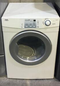 "Inglish Dryer 7.1 cu. ft. front loader white 27"" $399 as tor"