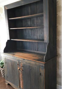 Gorgeous Handmade Pine Hutch