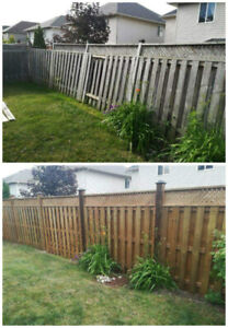 Fence, Deck, Landscaping and More!