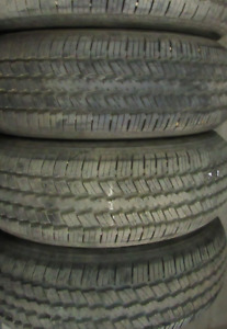 4 Tires sized 235/70/16 at 99% Tread left on them