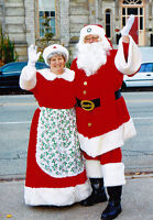 Windsor Parade Santa and Mrs. Claus available for visits.