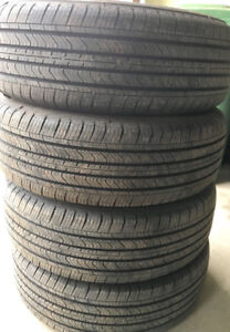 4 Michelin PRIMACY MXV4 summer/4seasons tires 235/65/17