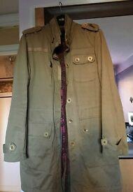 Ted Baker long coat.
