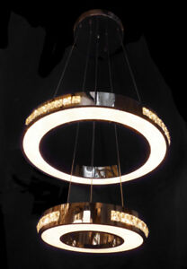 Lucy Suspended LED Light - 2 Rings