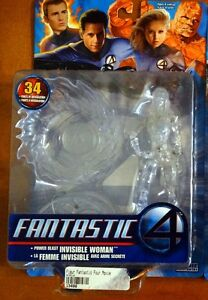 Invisible Woman from Fantastic 4 Figurine d'action jamais ouvert