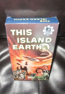 THIS ISLAND EARTH.....VHS