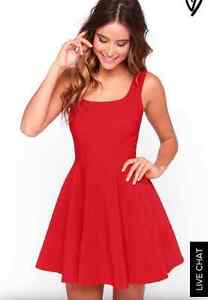 Women's Red Dress (Small)