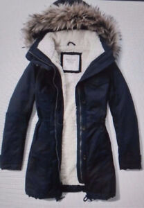 Abercrombie & Finch and Columbia $50 each Winter Coats