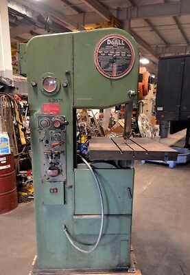 Do-all Vertical Band Saw Model 1611-h Inv.31575