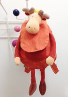 *Adorable Animal Moose Toddler/ Kids Backpack by Moulin Roty*