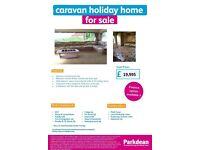 Lovely 2 bedroom caravan for sale with huge main bedroom!
