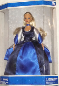 Qty 4 x Barbie Holiday Magic Dolls Red, Blue, Green Dresses NEW London Ontario image 1