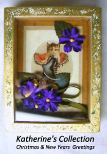 Katherine's Collection, cat in boot, Christmas and New year