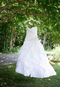 Ladies wedding dress