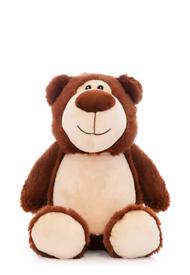 Personalised Brown Teddy