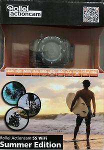 Rollei action camera 5S wifi summer edition - Brand NEW