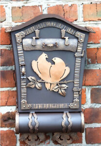 Antique Style Handcrafted Mailbox+INSTALLATION