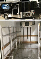 Electric Refrigerated/ Freezer Trailer Rentals (Mobile Cooler)