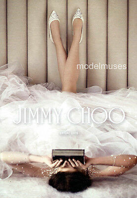 JIMMY CHOO Women's Shoes & Accessories CATALOG Bridal 2016 Collection - Bridal Catalogs