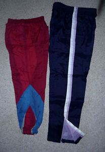 2 pair of wind / splash / play PANTS ..Youth M or Adult S Cambridge Kitchener Area image 1