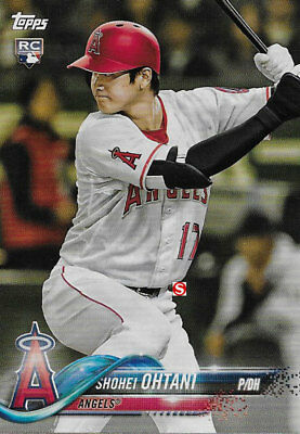 Anaheim Angels 2018 Topps Factory Sealed Team Set Shohei Otani Rookie Card plus