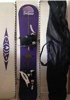 Planche à neige et accessoires