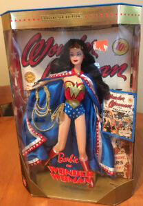 Wonder Woman collector barbie doll 1999