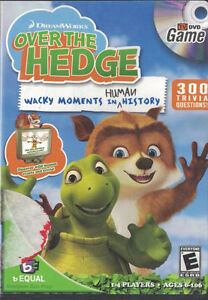Over The Hedge DVD Trivia Game-Very good condition