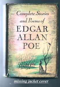 "Vintage book ""Complete Stories and poems of Edgar Allan Poe"""