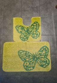 Butterfly bath/bathroom mats