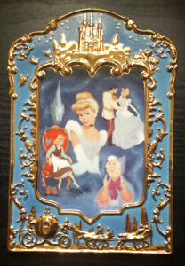 """CINDERELLA'S 50TH ANNIVERSARY"""" (1950-2000) GOLD DETAILED PLATE"""