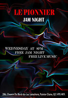Jam & Open Mic night at Le Pionnier (Wed @ 8:30pm-12:30am)