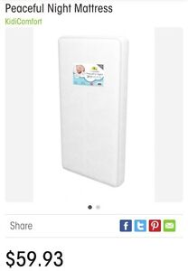 Baby crib/toddler bed mattress