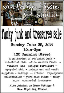 Funky Junk and Treasures Sale