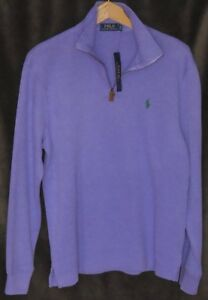 POLO PURPLE PULLOVER NEW W/ TAGS $98.00 US NO TAX