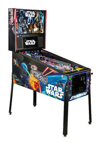NEW STERN PINBALLS - John's Jukes LTD - STAR WARS now available!