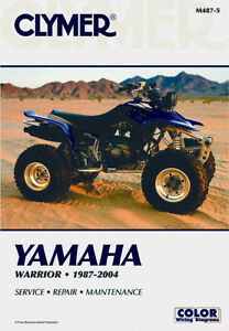 Clymer Shop Manuals For Yamaha ATV's