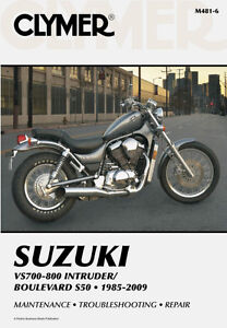 Clymer Shop Manuals For Suzuki Motorcycles