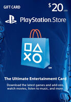 Selling 20$ Playstation store card