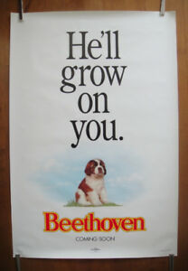 Beethoven (1992) Original Advanced Rolled Movie Poster