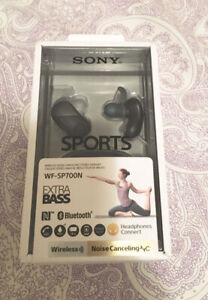 Never used and still in box Bluetooth earphones