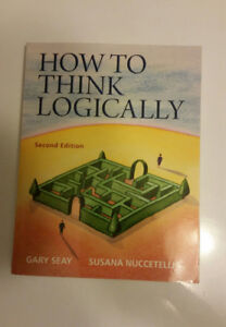 How to Think Logically Textbook