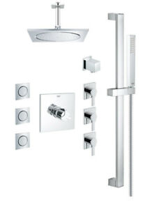 Grohe Square THM shower kit 117163