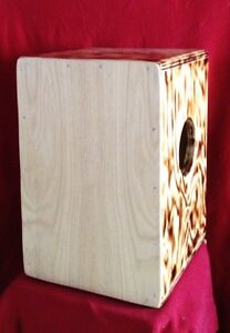 Cajon: 3n1 cajon 3 playing surfaces Tunable snare n tribal sides Cambridge Kitchener Area image 10
