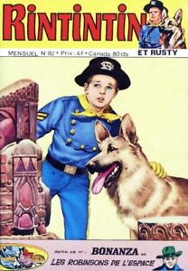 RINTINTIN ET RUSTY N. 92 EXCELLENT ÉTAT TAXES INCLUSES