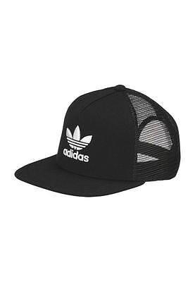 Adidas Originals Mens Trefoil Trucker Cap Snapback  Mesh Hat One Size Free Post