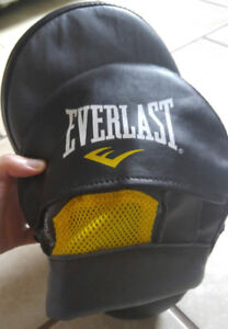 Everlast punching mitts and gloves. Barely used.