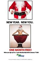 Woodstock Fitness & Racquet Club Christmas Specials