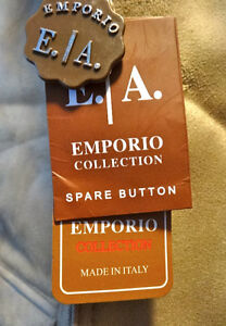 Jacket.leather. Emporio Collection.Brand new.Made in Italy.